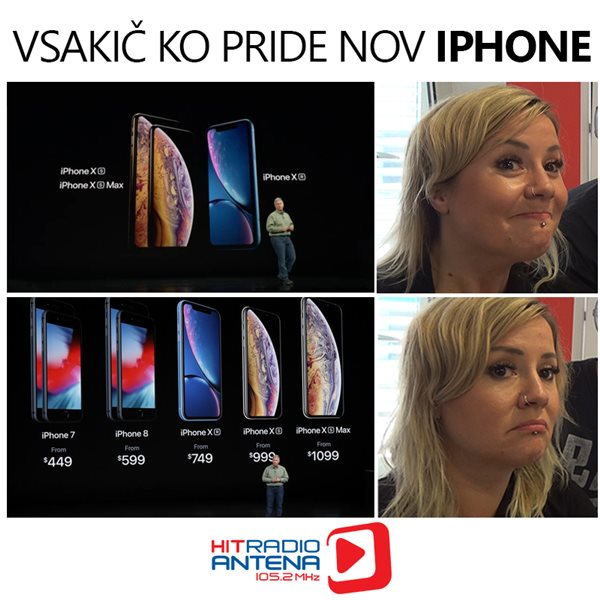 Ko pride nov iPhone